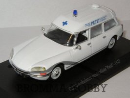 Citroen DS 20 AMBULANS (1973)