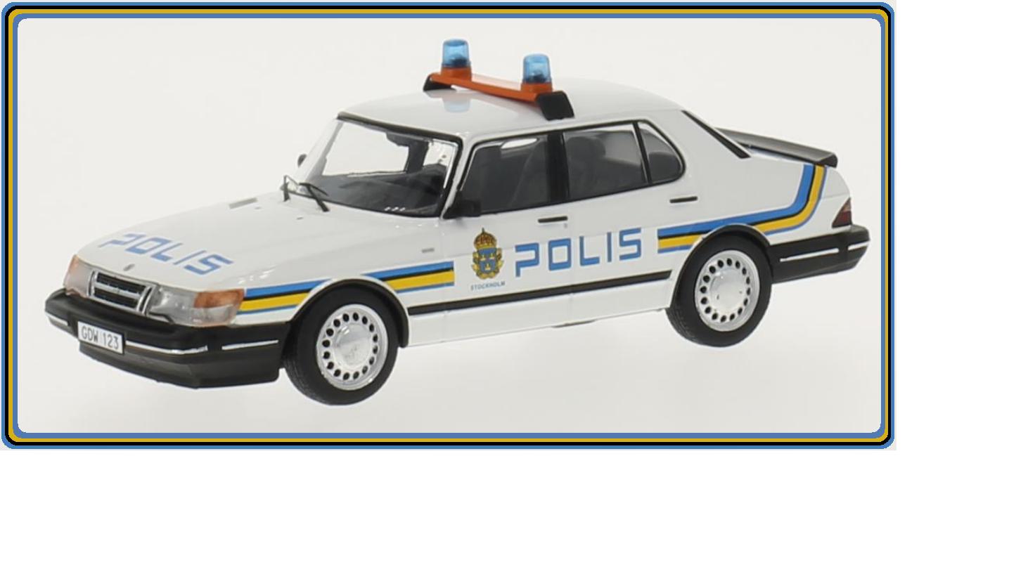 SAAB 900i POLIS