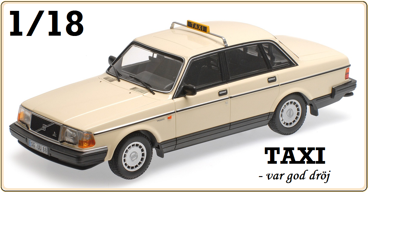 Volvo 240 TAXI